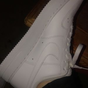 Low top Air Force 1s